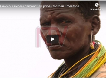 Karamoja miners demand fair prices for their limestone