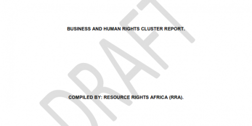 Business and Human Rights Cluster Report on Universal Periodic Review (UPR) Report